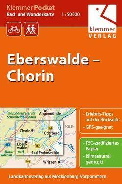 Klemmer Pocket Rad- und Wanderkarte Eberswalde – Chorin von Goerlt,  Heidi, Klemmer,  Klaus, Kuhlmann,  Christian