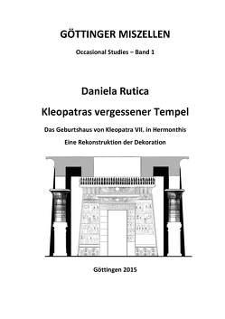 Kleopatras vergessener Tempel von Rutica,  Daniela
