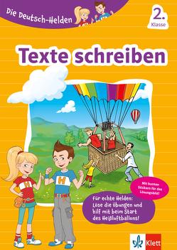 Klett Die Deutsch-Helden Texte schreiben 2. Klasse