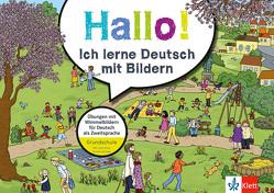 Klett Hallo! Ich lerne Deutsch mit Bildern von Huber,  Ursula