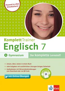 Klett KomplettTrainer Englisch Klasse 7 von Maier-Dörner,  Götz