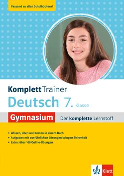 Klett KomplettTrainer Gymnasium Deutsch 7. Klasse