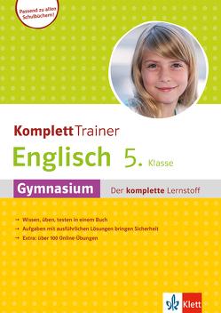 Klett KomplettTrainer Gymnasium Englisch 5. Klasse von Saccaro,  Alexander P.