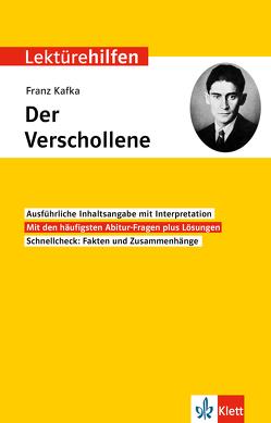 Klett Lektürehilfen Franz Kafka, Der Verschollene