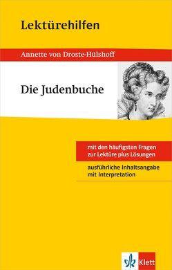 """Klett Lektürehilfen Annette von Droste-Hülshoff """"Die Judenbuche"""" von Becker,  Herbert"""