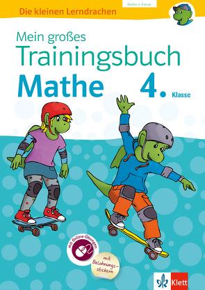 Klett Mein großes Trainingsbuch Mathematik 4. Klasse von Bergmann,  Hans, Geßner,  Holger, Heuchert,  Detlev