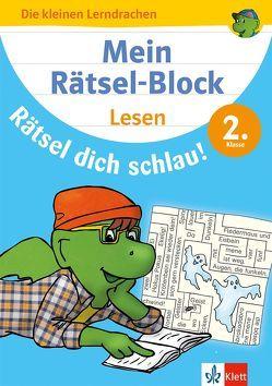 Klett Mein Rätsel-Block Rätsel dich schlau! Lesen 2. Klasse
