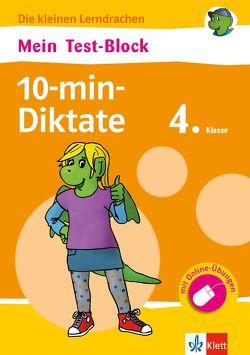 Klett Mein Test-Block 10-min-Diktate 4. Klasse