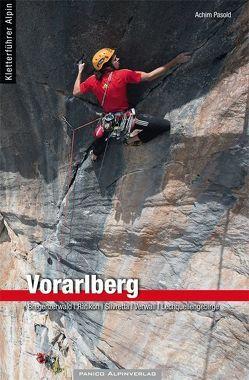 Kletterführer Vorarlberg von Pasold,  Achim