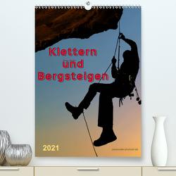 Klettern und Bergsteigen (Premium, hochwertiger DIN A2 Wandkalender 2021, Kunstdruck in Hochglanz) von Roder,  Peter