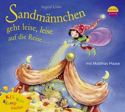 Kli-Kla-Klangbücher: Sandmännchen geht leise, leise auf die Reise … von Singer,  Theresia, Uebe,  Ingrid