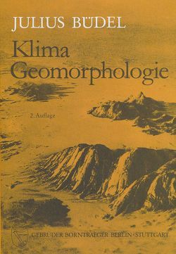 Klima-Geomorphologie von Büdel,  Julius
