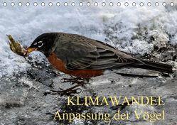 KLIMAWANDEL Anpassung der Vögel (Tischkalender 2019 DIN A5 quer) von Hoville,  Wido