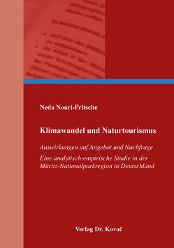 Klimawandel und Naturtourismus von Nouri-Fritsche,  Neda