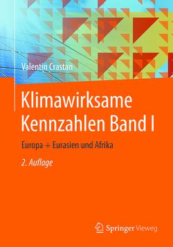Klimawirksame Kennzahlen Band I von Crastan,  Valentin