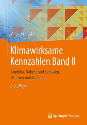 Klimawirksame Kennzahlen Band II von Crastan,  Valentin