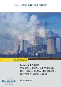 Klimergiepolitik von Liberales Institut, Stalder,  Meinhard