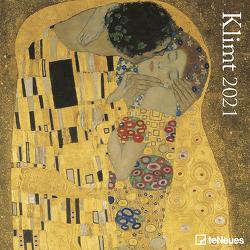 Klimt 2021 – Wand-Kalender – Broschüren-Kalender – 30×30 – 30×60 geöffnet – Kunst-Kalender von Klimt,  Gustav