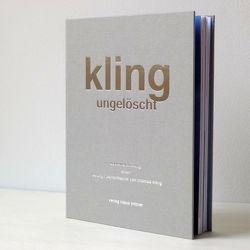 kling ungelöscht von Kling,  Thomas, Theodor,  Boscher