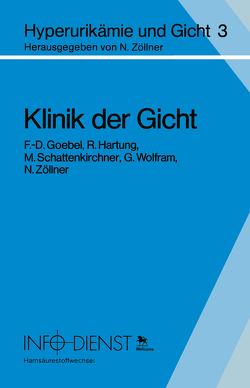 Klinik der Gicht von Goebel,  F.D., Hartung,  R., Schattenkirchner,  M., Wolfram,  G., Zöllner,  N.