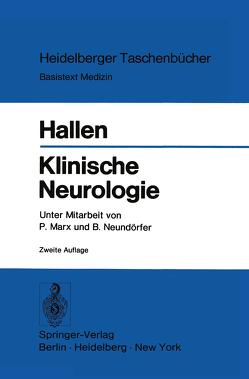Klinische Neurologie von Hallen,  O., Marx,  P., Neundörfer,  B.