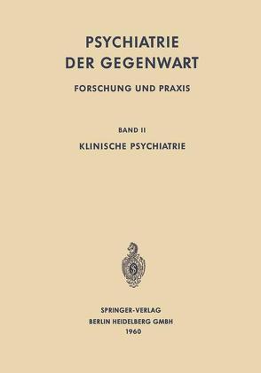 Klinische Psychiatrie von Benda,  Clemens E.