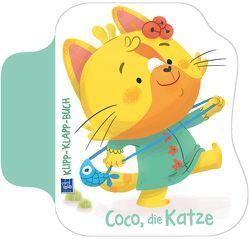 Klipp-Klapp-Buch Coco, die Katze