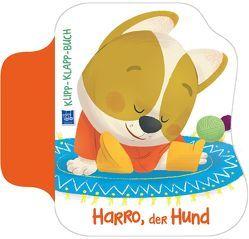 Klipp-Klapp-Buch Harro der Hund