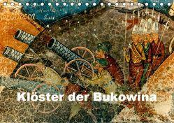 Klöster der Bukowina (Tischkalender 2019 DIN A5 quer) von stegen,  joern