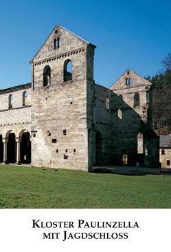 Kloster Paulinzella mit Jagdschloss von Beyer, Greiselmayer,  Volkmar