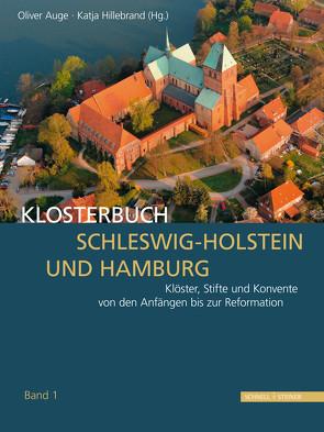 Klosterbuch Schleswig-Holstein und Hamburg – 2 Bände im Set von Auge,  Oliver, Hillebrand,  Katja