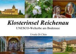 Klosterinsel Reichenau – UNESCO-Welterbe am Bodensee (Wandkalender 2018 DIN A2 quer) von Di Chito,  Ursula