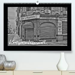 Kneipenbummel (Premium, hochwertiger DIN A2 Wandkalender 2021, Kunstdruck in Hochglanz) von Ange
