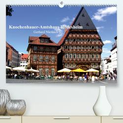 Knochenhauer-Amtshaus Hildesheim (Premium, hochwertiger DIN A2 Wandkalender 2021, Kunstdruck in Hochglanz) von Niemsch,  Gerhard