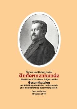 Knötel, Uniformenkunde – Gesamtkatalog von Hoffmann,  Curt