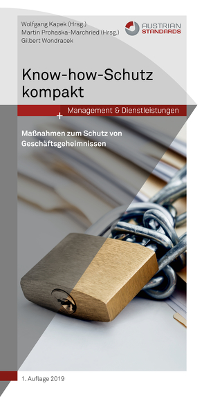 Know-how-Schutz kompakt von Kapek,  Wolfgang, Prohaska-Marchried,  Martin
