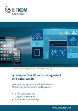 KnowTech – Wissensmanagement und Social Media – Markterfolg im Innovationswettbewerb von Arns,  Tobias, Bentele,  Markus, Niemeier,  Joachim, Schütt,  Peter, Weber,  Mathias