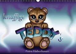knuffige Teddys (Wandkalender 2019 DIN A3 quer) von Haberhauer,  Petra