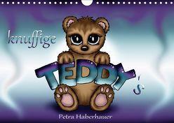 knuffige Teddys (Wandkalender 2019 DIN A4 quer) von Haberhauer,  Petra