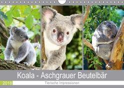 Koala – Aschgrauer Beutelbär 2018. Tierische Impressionen (Wandkalender 2018 DIN A4 quer) von Lehmann (Hrsg.),  Steffani