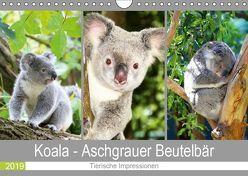 Koala – Aschgrauer Beutelbär 2019. Tierische Impressionen (Wandkalender 2019 DIN A4 quer) von Lehmann (Hrsg.),  Steffani