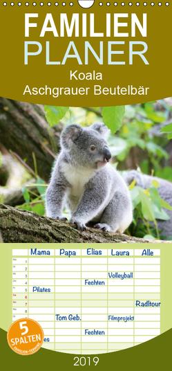 Koala – Aschgrauer Beutelbär – Tierische Impressionen – Familienplaner hoch (Wandkalender 2019 , 21 cm x 45 cm, hoch) von Lehmann (Hrsg.),  Steffani