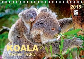 Koala – kleiner Teddy (Tischkalender 2018 DIN A5 quer) von Roder,  Peter