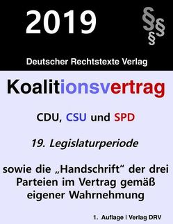 Koalitionsvertrag von DRV,  Redaktion