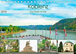 Koblenz – eine Stadt mit Flair (Tischkalender 2019 DIN A5 quer) von Schwarze,  Nina