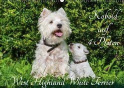 Kobold auf 4 Pfoten – West Highland White Terrier (Wandkalender 2019 DIN A2 quer) von Starick,  Sigrid