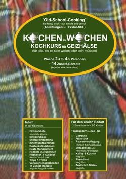 Kochen in Wochen 2 von Wittbrodt,  Marend