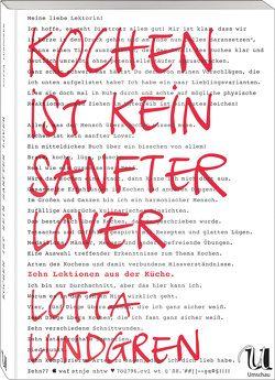 Kochen ist kein sanfter Lover von Lotta Lundgren