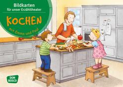 Kochen mit Emma und Paul. Kamishibai Bildkartenset. von Bohnstedt,  Antje, Lehner,  Monika