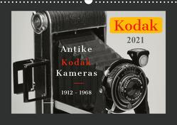 KODAK Antike Kameras 1912 – 1968 (Wandkalender 2021 DIN A3 quer) von Fraatz,  Barbara, Plösser,  Werner